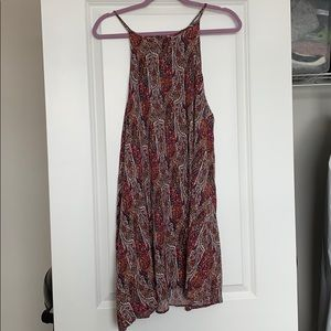 American Eagle Outfitters Purple Paisley Dress